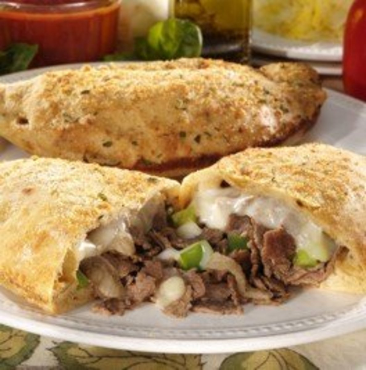 EASY STEAK BOMB CALZONE