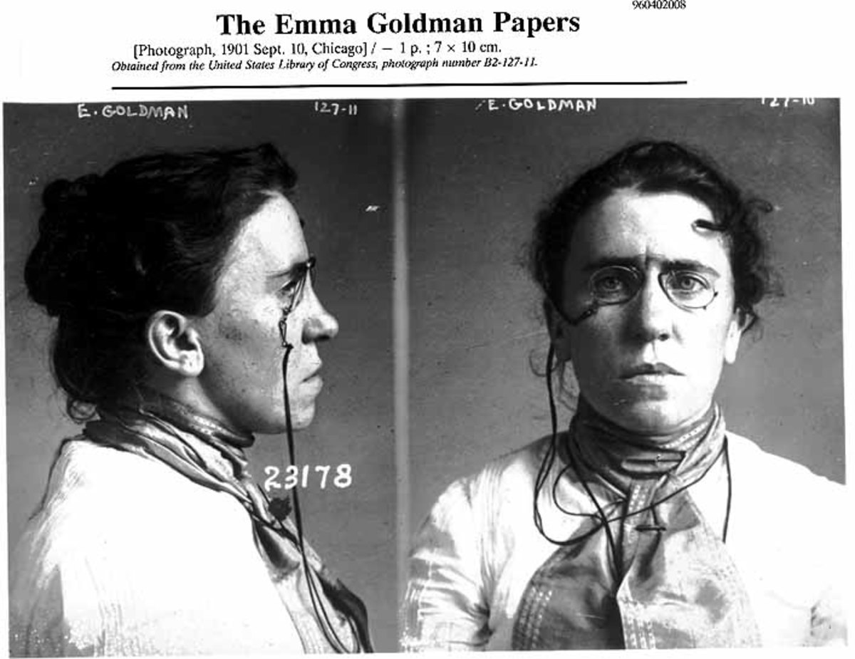 EMMA GOLDMAN—INSPIRED THE IDEOLOGY OF THE ACLU