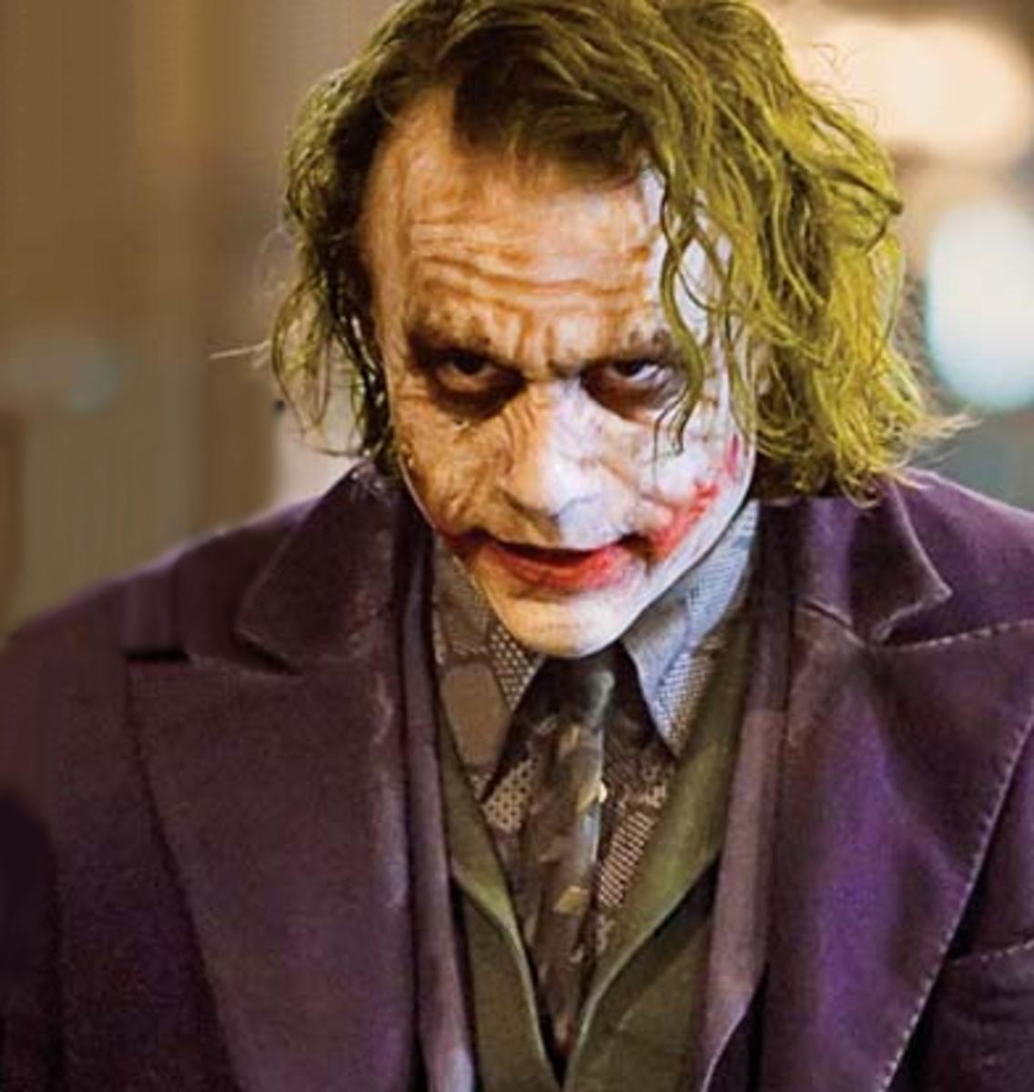The Joker as a Satanic Character