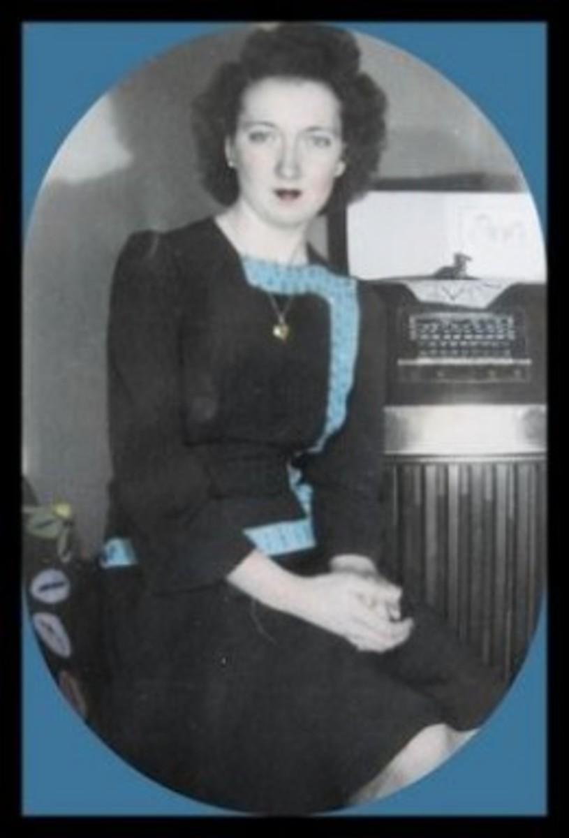 Lorinda in her early twenties. St, Paul, MN