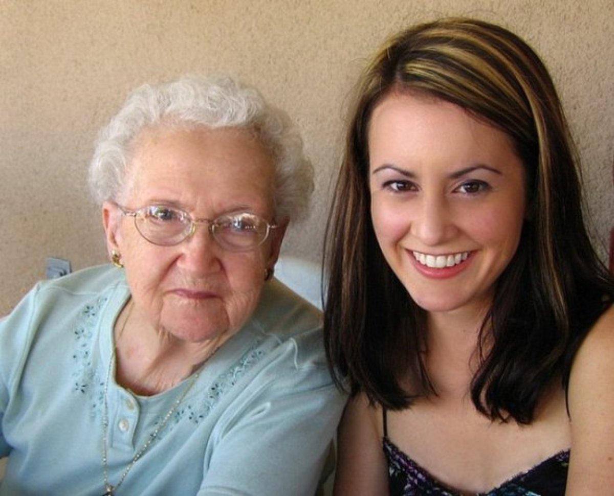 Lorinda and granddaughter Marcy