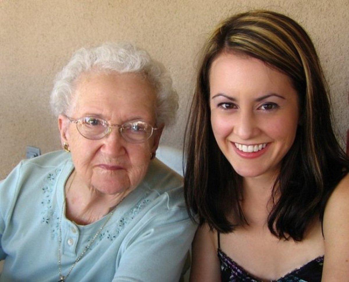 Lorinda and granddaughter Marcy