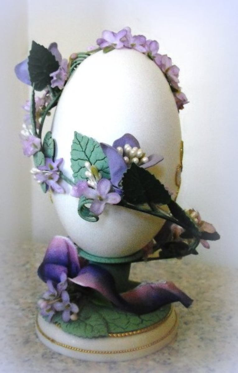 decorative goose egg