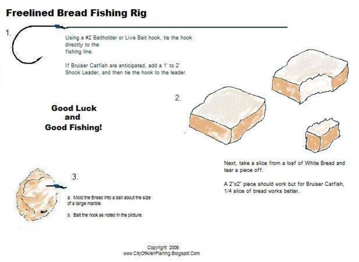 Fishing with bread fishing rigs hubpages for Fishing with bread