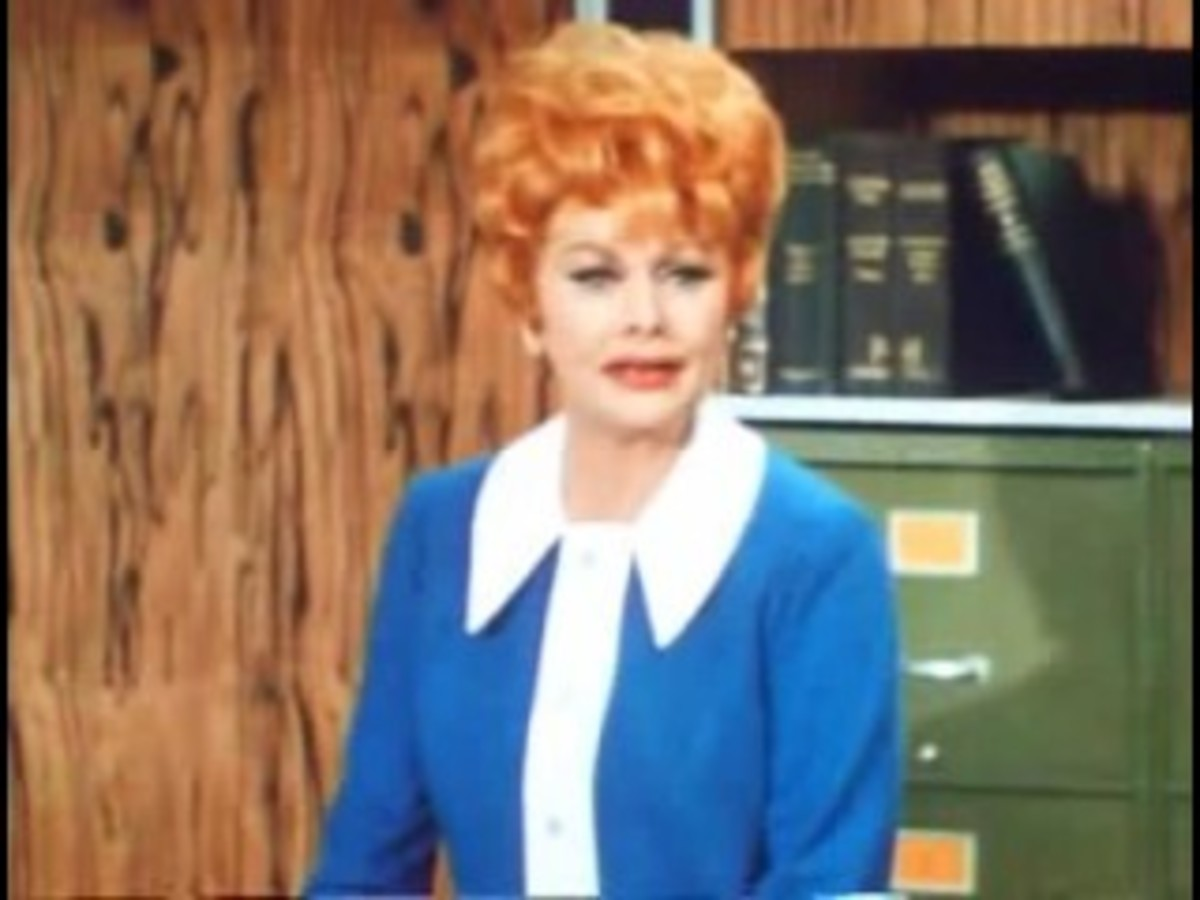 Lucy on Lucy the Starmaker with Frankie Avalon