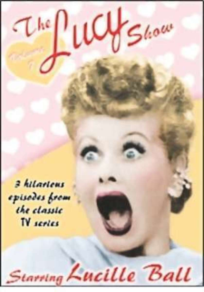 Press Poster from The Lucy Show starring Lucille Ball