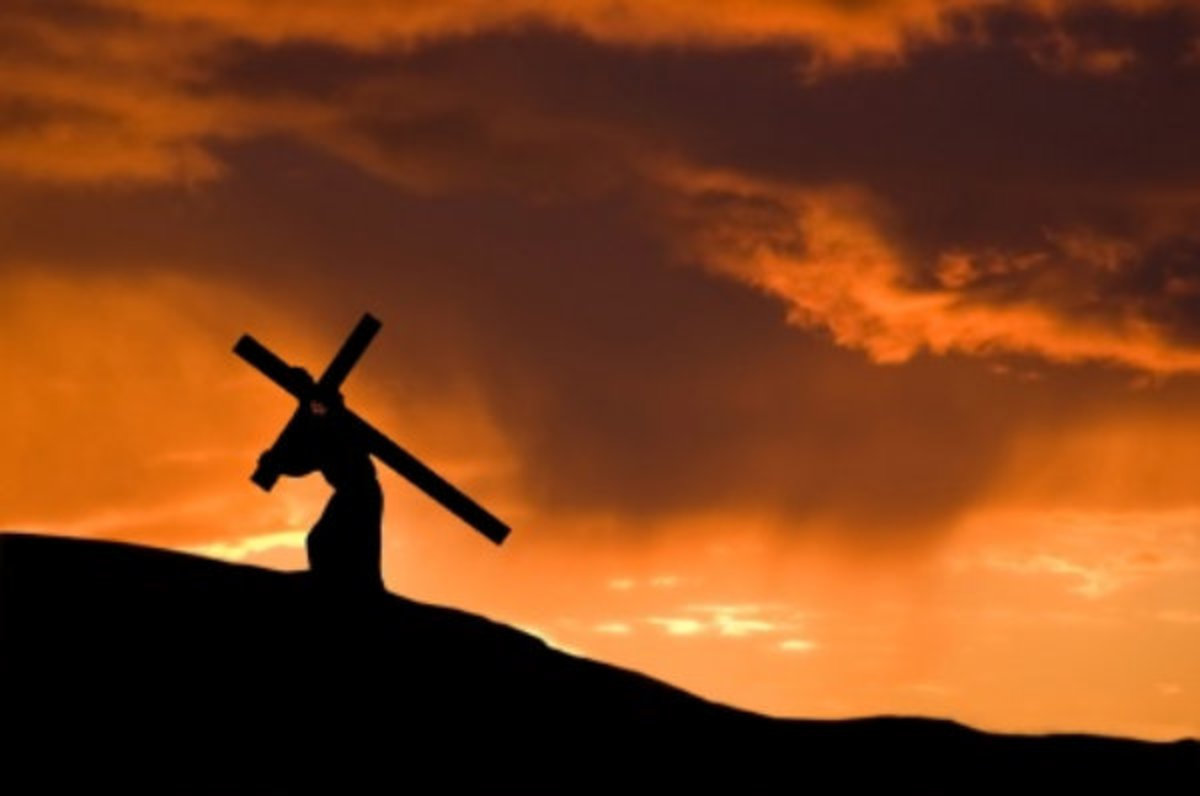 Take up your cross and follow me. Luke 9:23