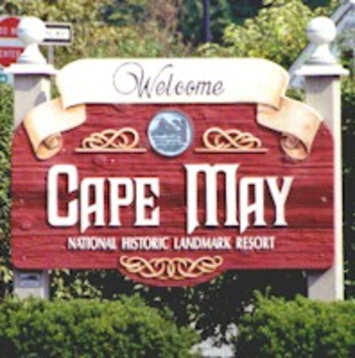 Welcome Sign - Cape May, NJ