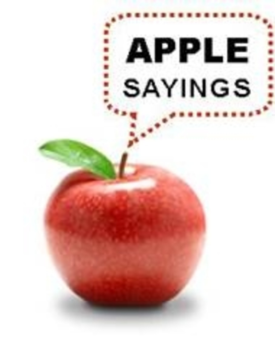 Apple Sayings: Where The Heck Did They Come From?