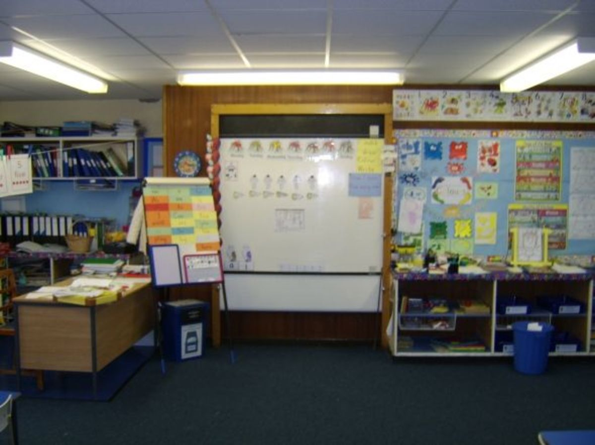 Room 4, where I spent Primary 2