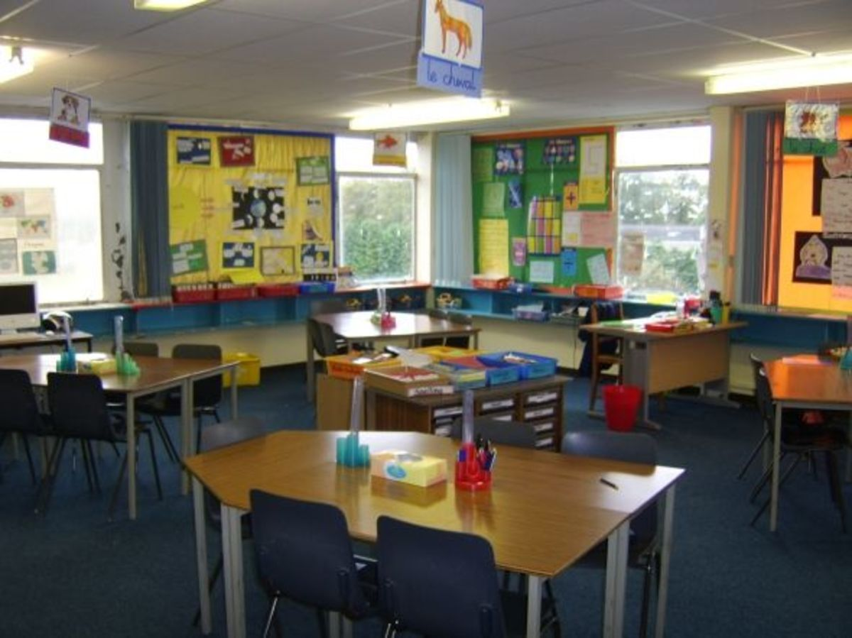 Room 13, where I spent Primary 6