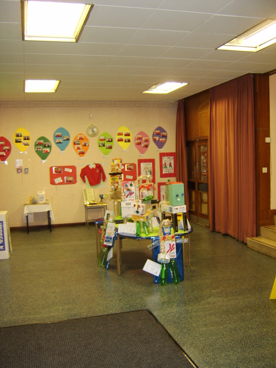 Coltness Primary School - The Main Entrance Hall