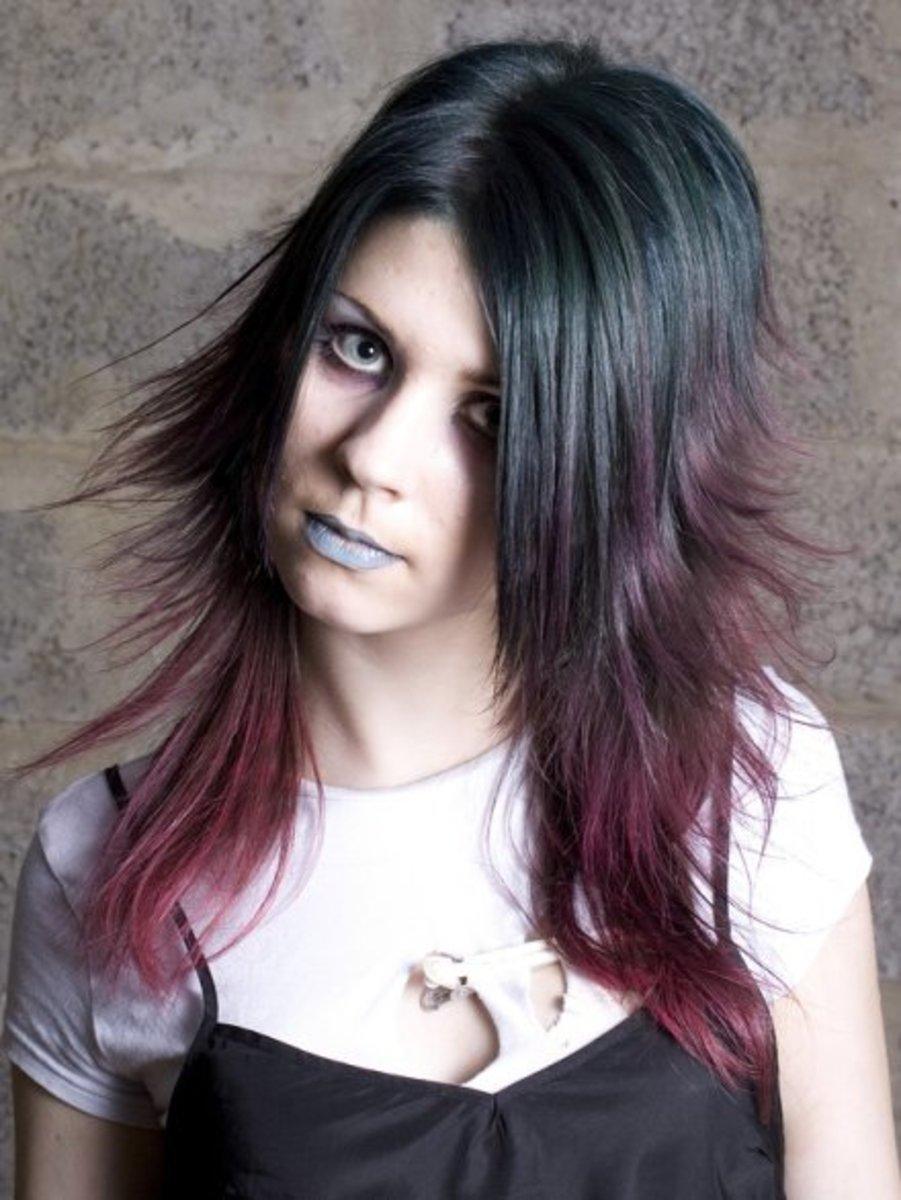 Plytomurli Short Hair Red Highlights