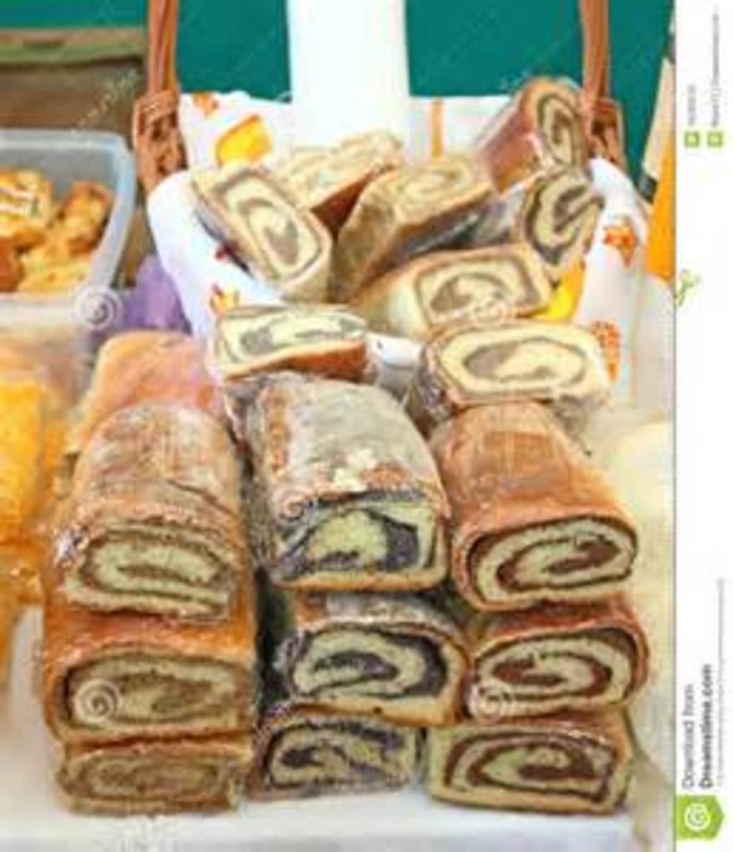Croatian Nut Rolls