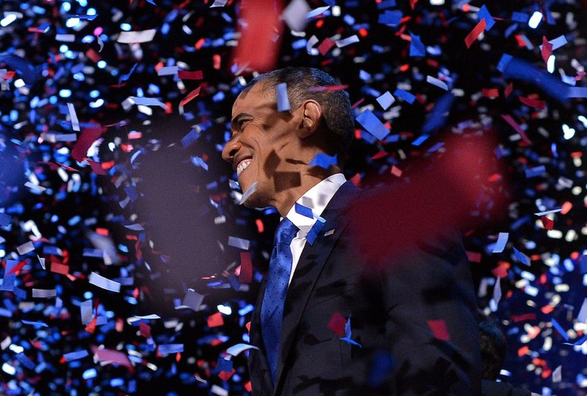 """How Sweet it is! .. Now Moving Forward... Congratulations """"POTUS"""", Obama!"""