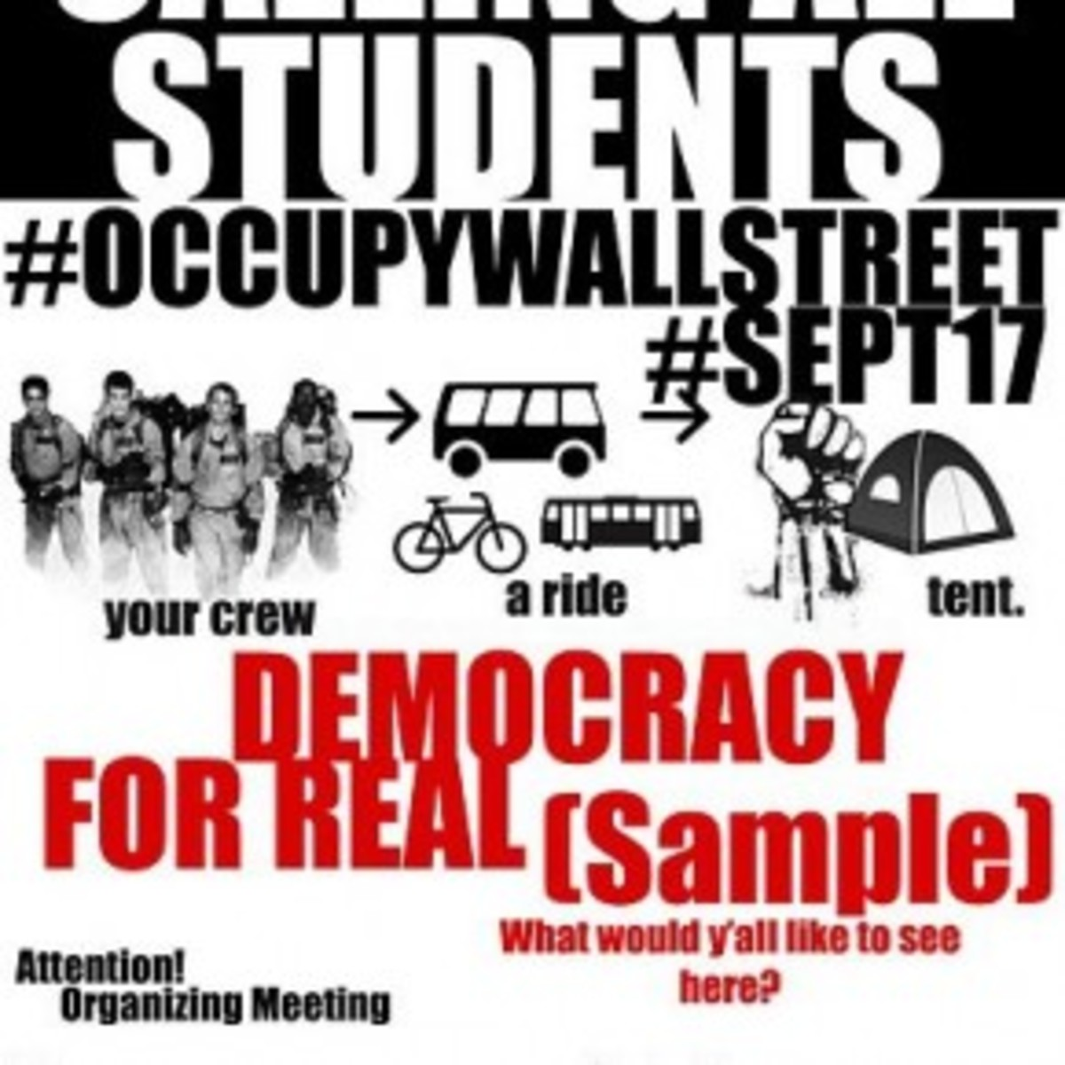 The Wall Street Occupiers and the Democrats
