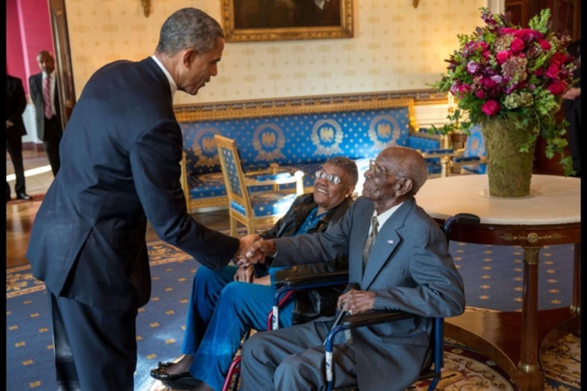 Oldest Living Veteran in the White House