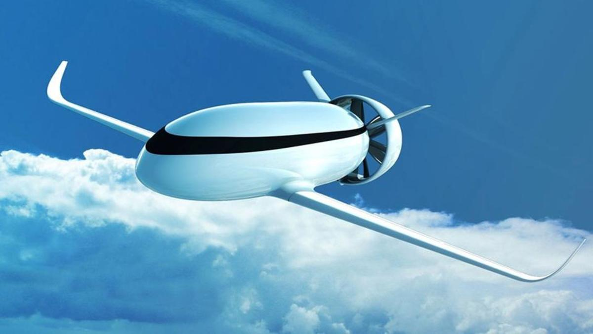 Shock test Electric motors are taken to an extreme with the Airbus VoltAir concept, which would use shrouded propellers powered entirely by batteries.