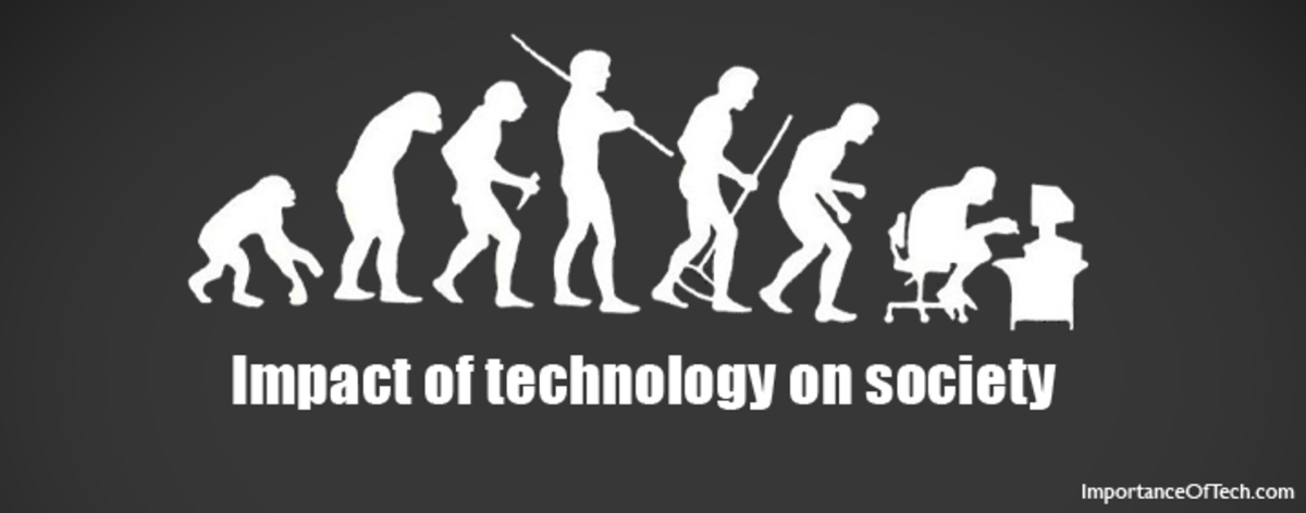 From Early Man to technological man the evolution of and impact of technology on present-day society