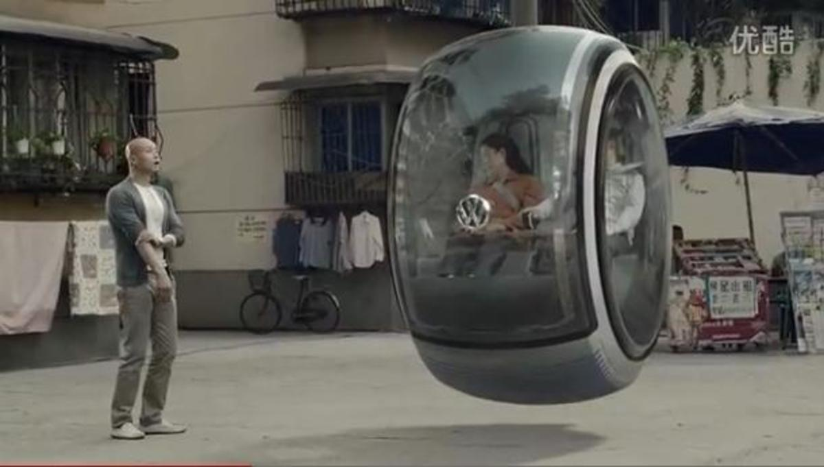 Will the car of the future look anything like the car of today? According to Volkswagen, it could look like a floating doughnut. The VW Hover Car is one of three concepts to come out of the People's Car Project the German company company launched
