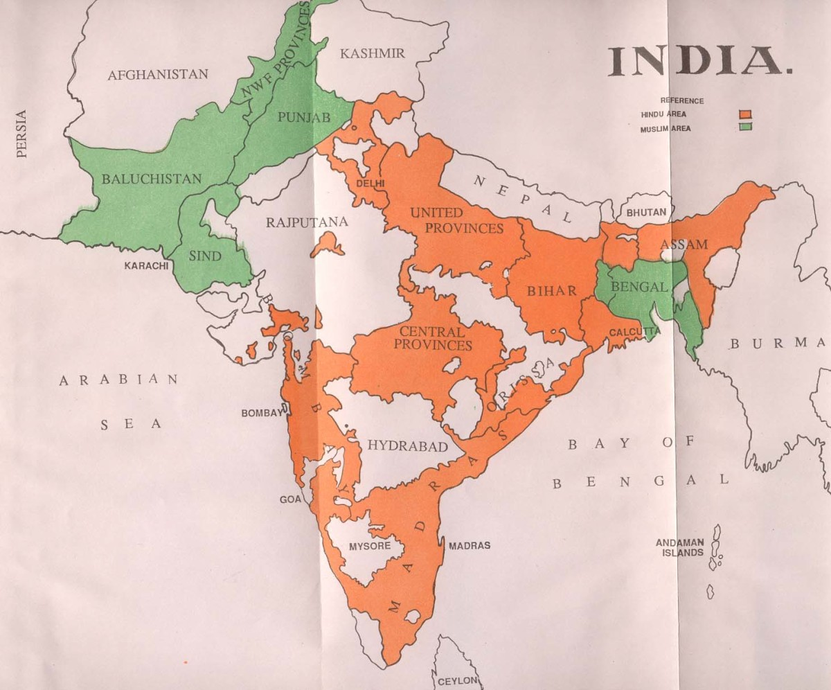 PARTITION OF INDIA AND PAKISTAN 1947