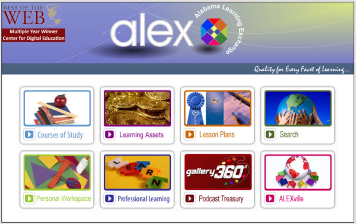 ALEX Lesson Plans
