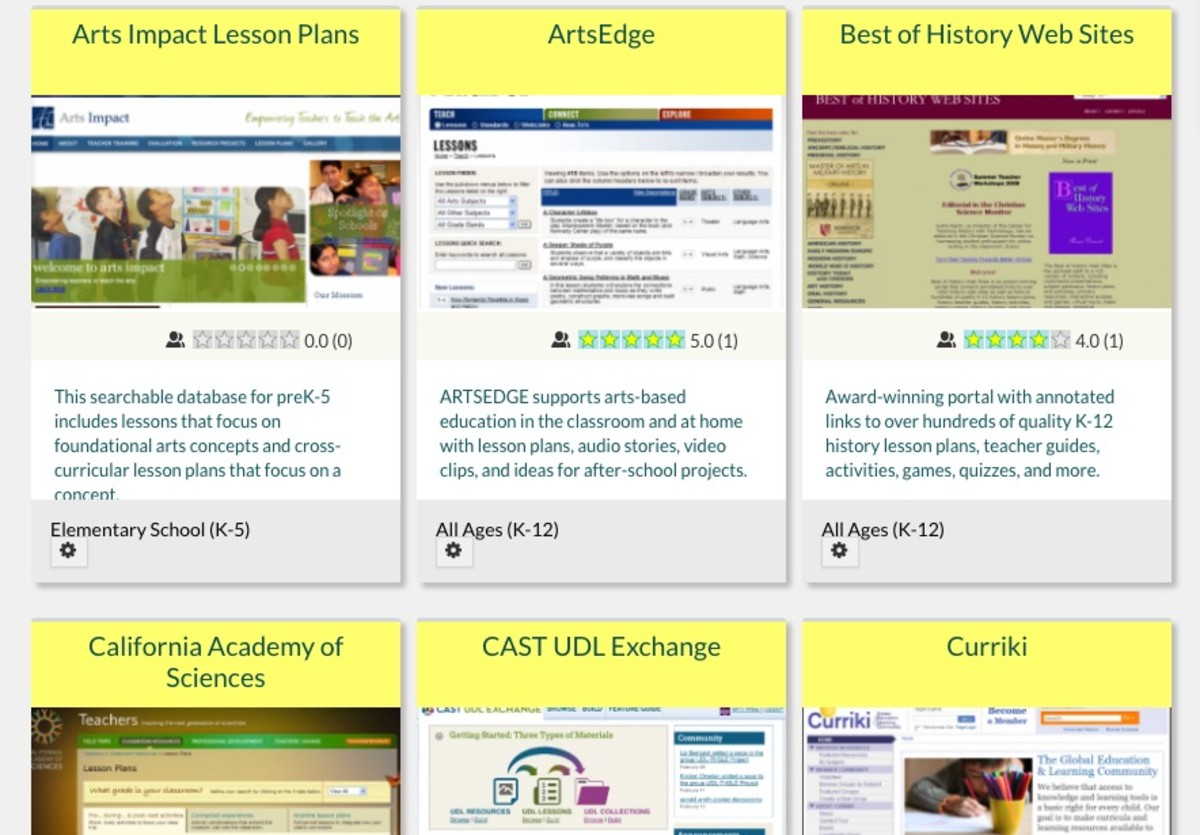 LearningReviews Lesson Plans Guide