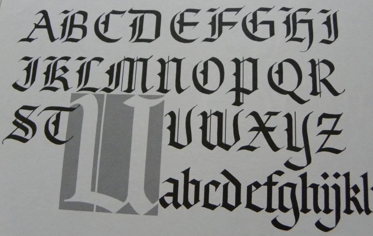 Old English (Blackletter)