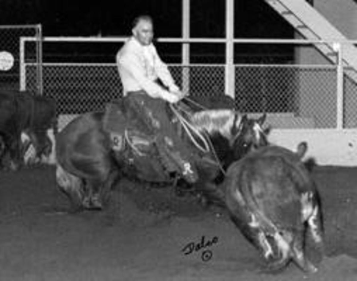 Cutter Bill, a talented cutter and influential foundation cutting sire.
