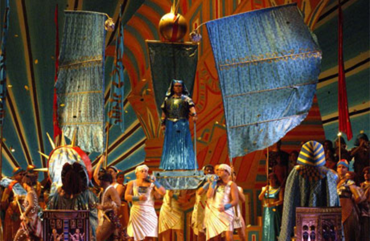 Verdi's Aida - An Opulent Production