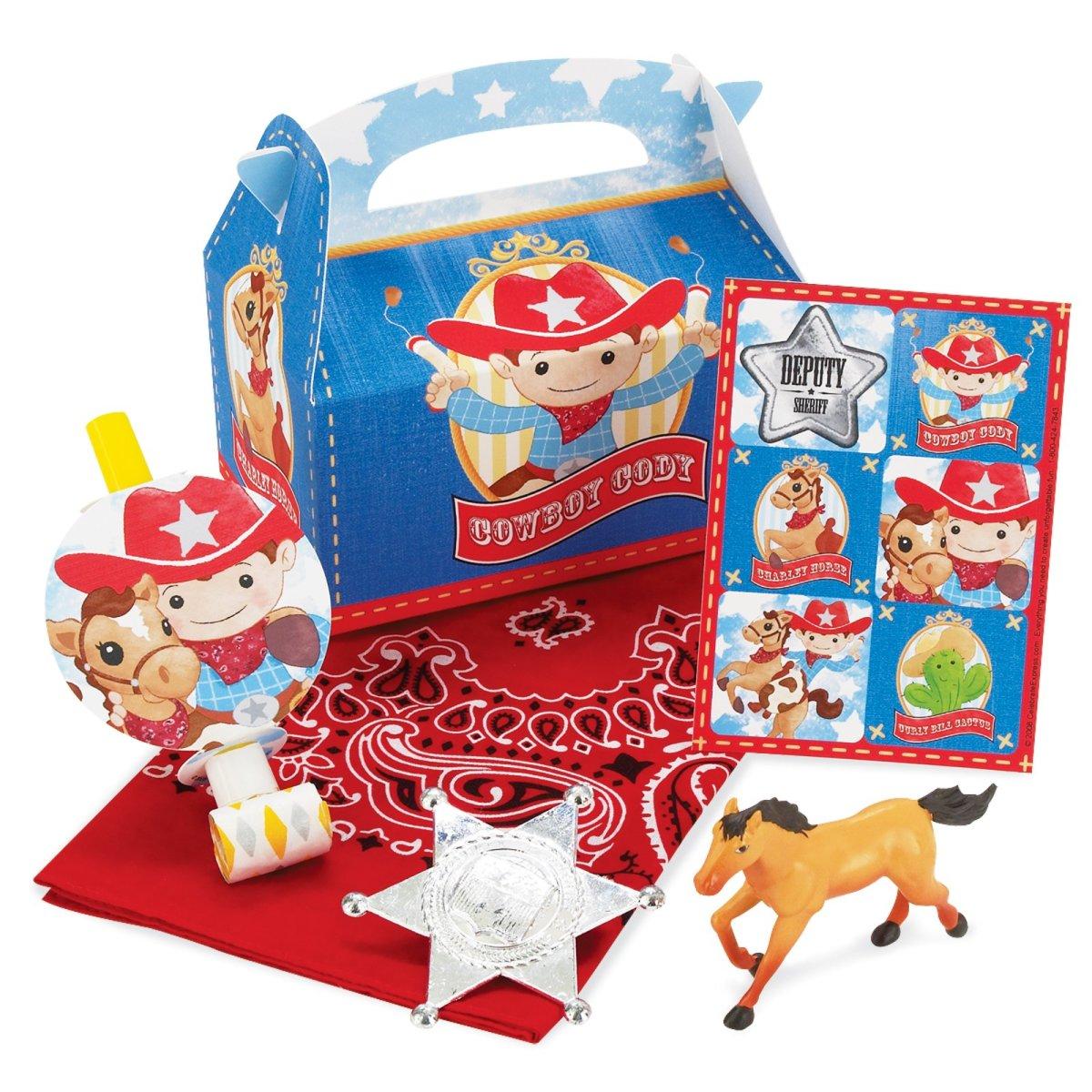 Cowboy Favor Box