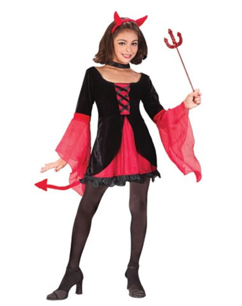 Devil Halloween Costume Diy in Devil Halloween Costume