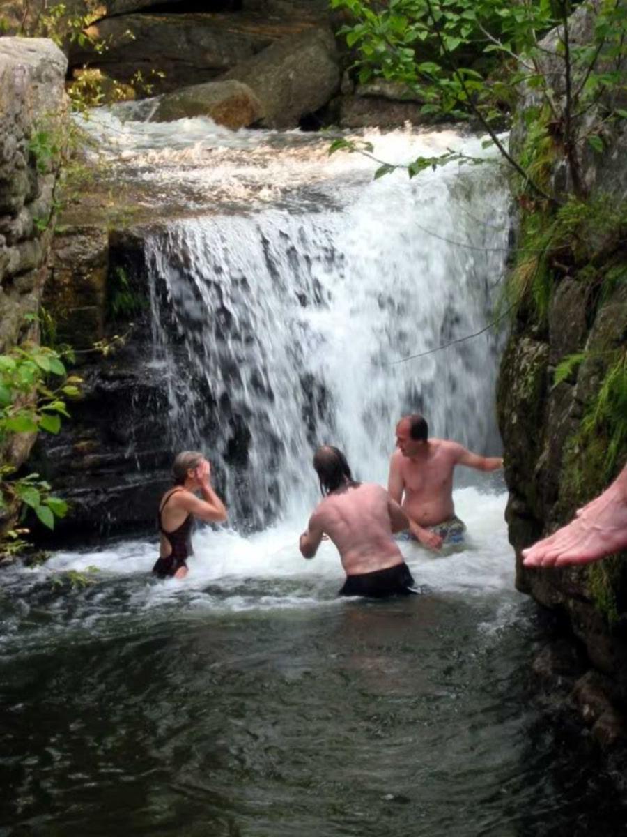 Split Rock Falls, New Paltz, NY. Courtesy Photobucket.com