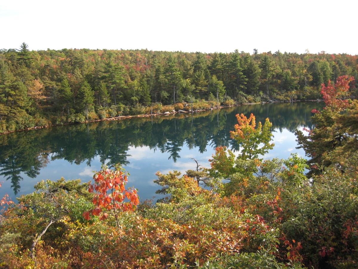 Minnewaska State Park in the Fall