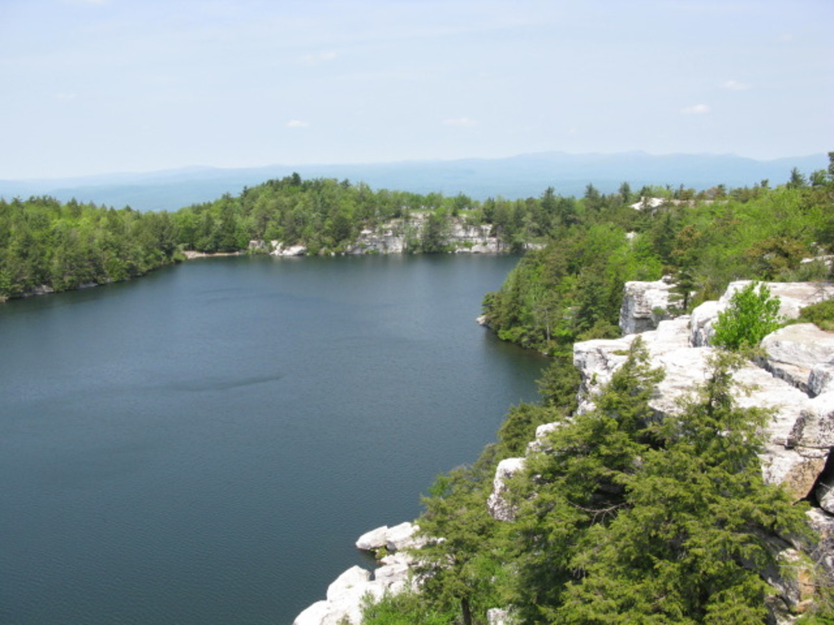 Lake Minnewaska, Minnewaska State Park