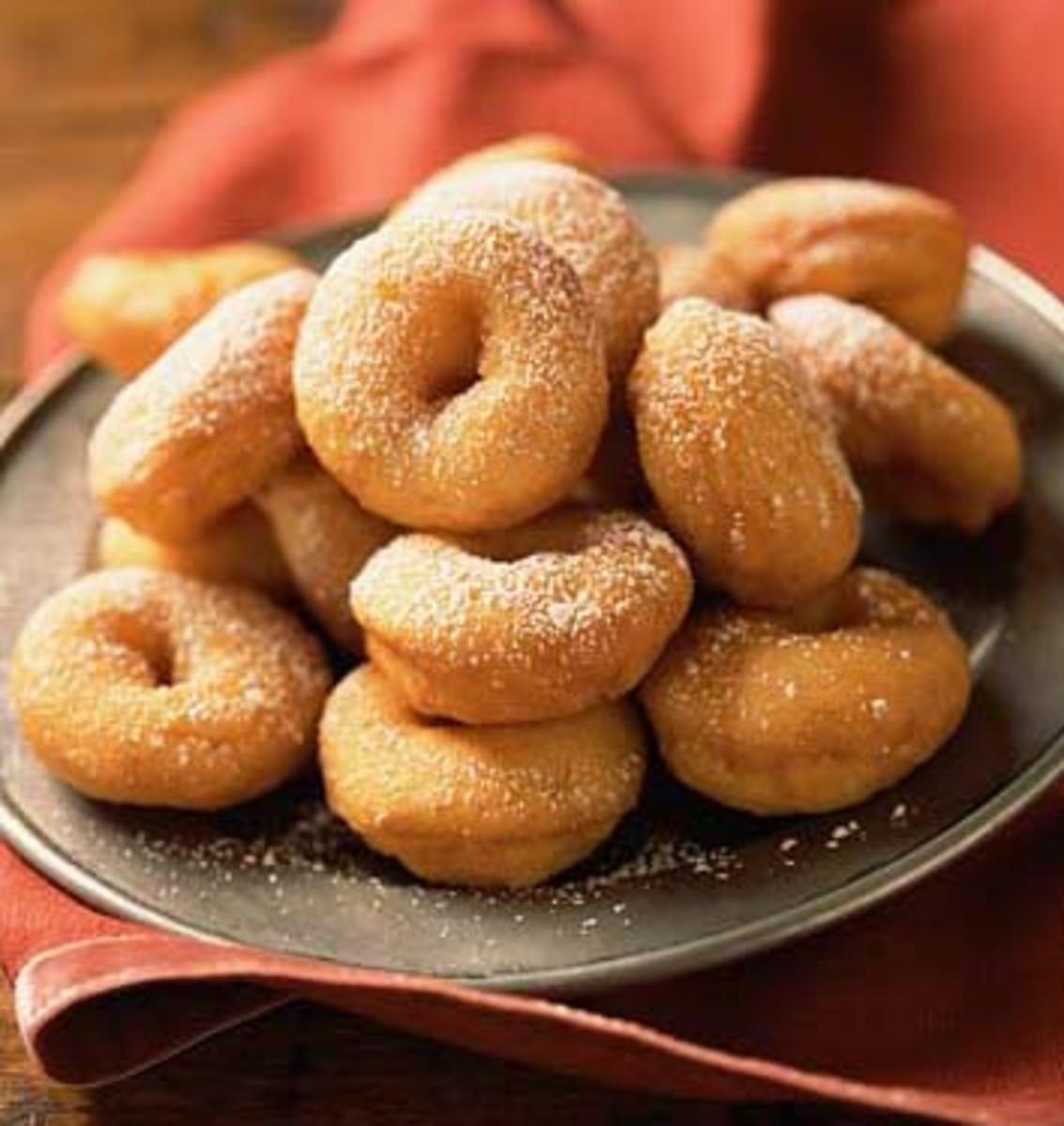 Delicious apple cider donuts