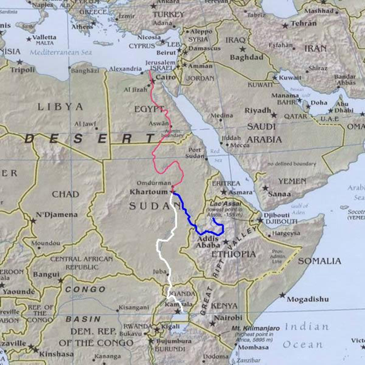World's Longest River – World's Largest River – and World's Deepest River
