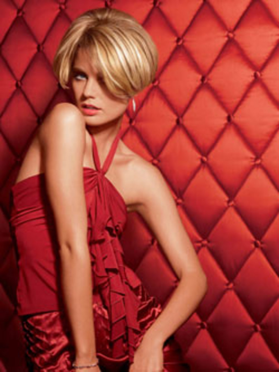 blonde bob hairstyles for women