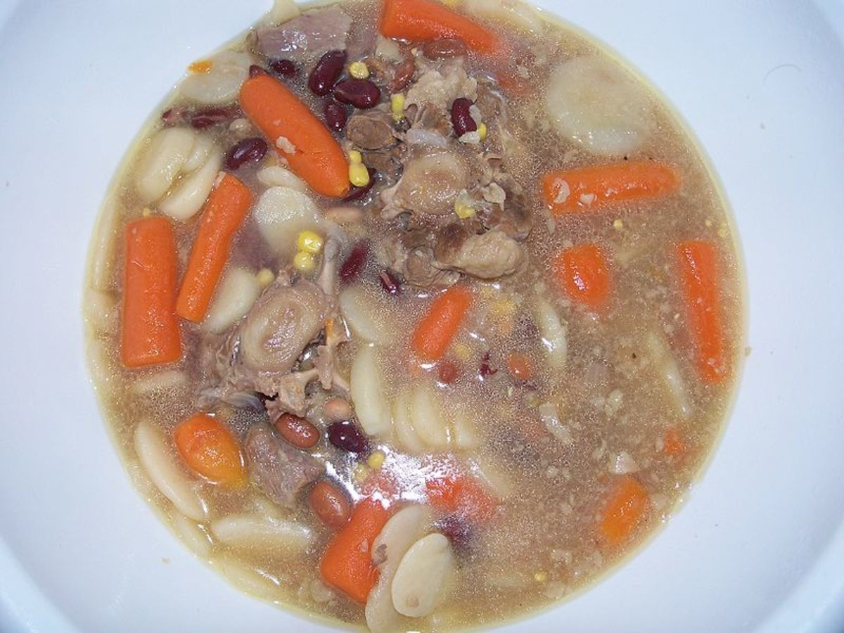 Southern or Cajun Oxtail Stew