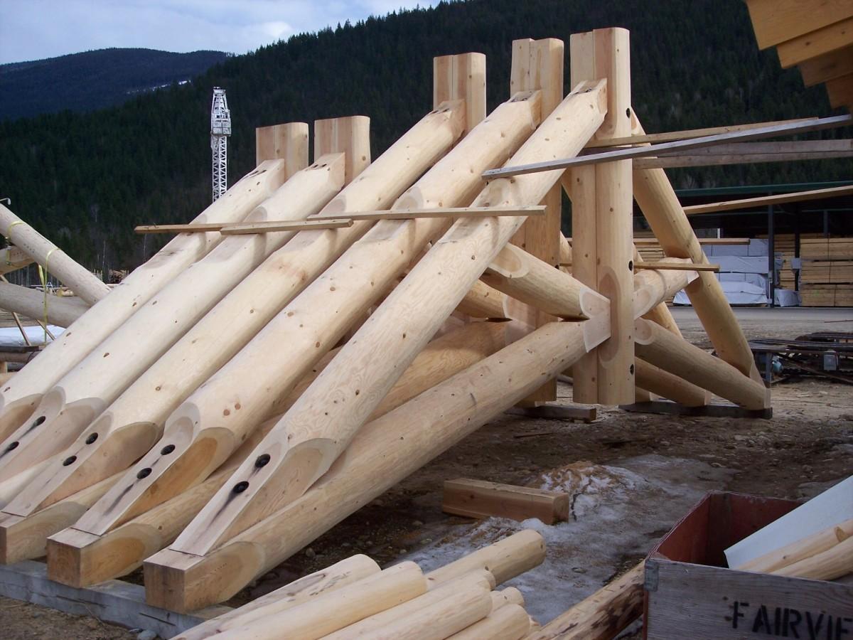 Log Trusses