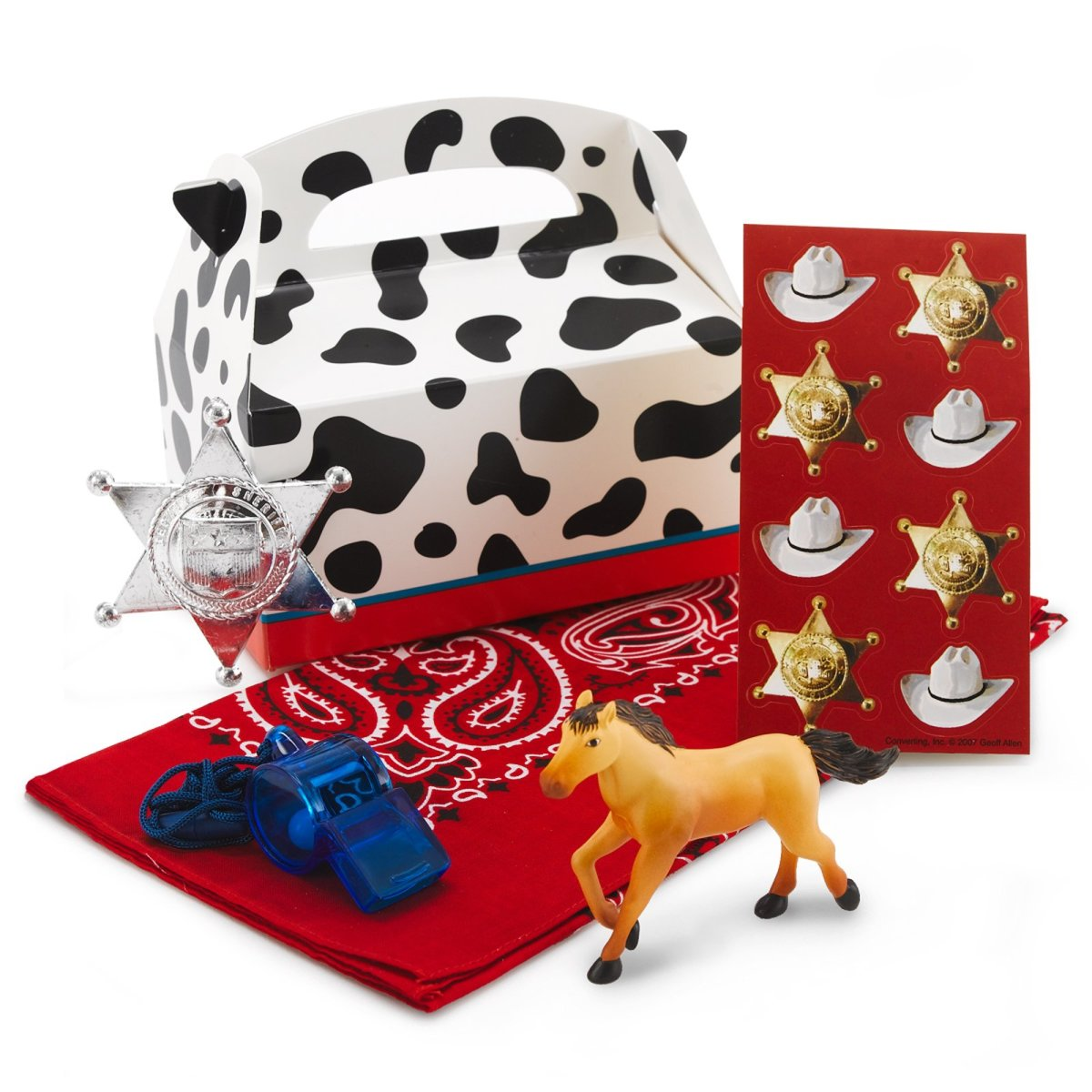 Rodeo Cowboy favor Box