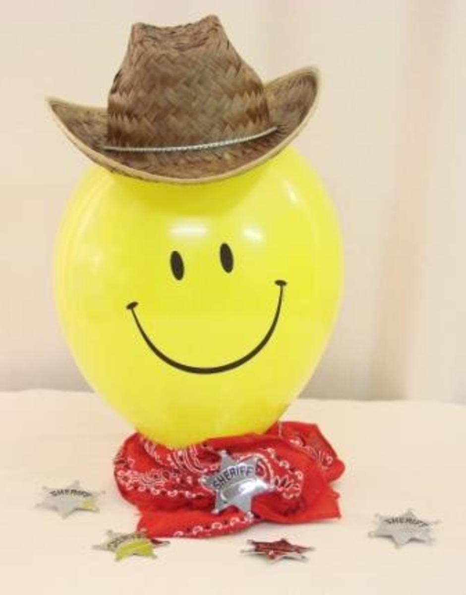 Cowboy Balloon