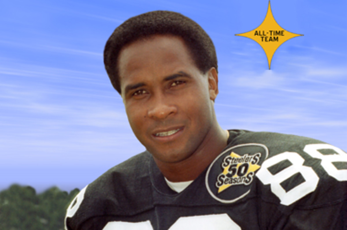Lynn Swann - Top 5 Greatest Wide Receivers in the game of football.