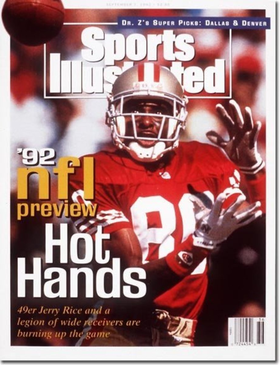 Sports Illustrated Magazin featuring Jerry Rice