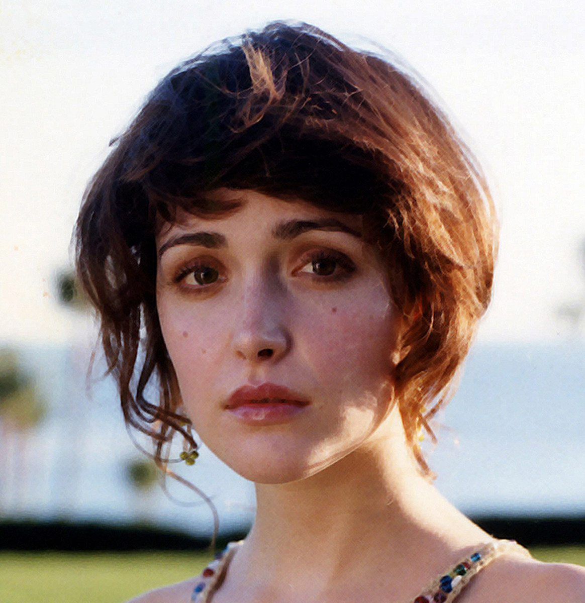 Rose Byrne : Now come on guys who could not fall for this face ?