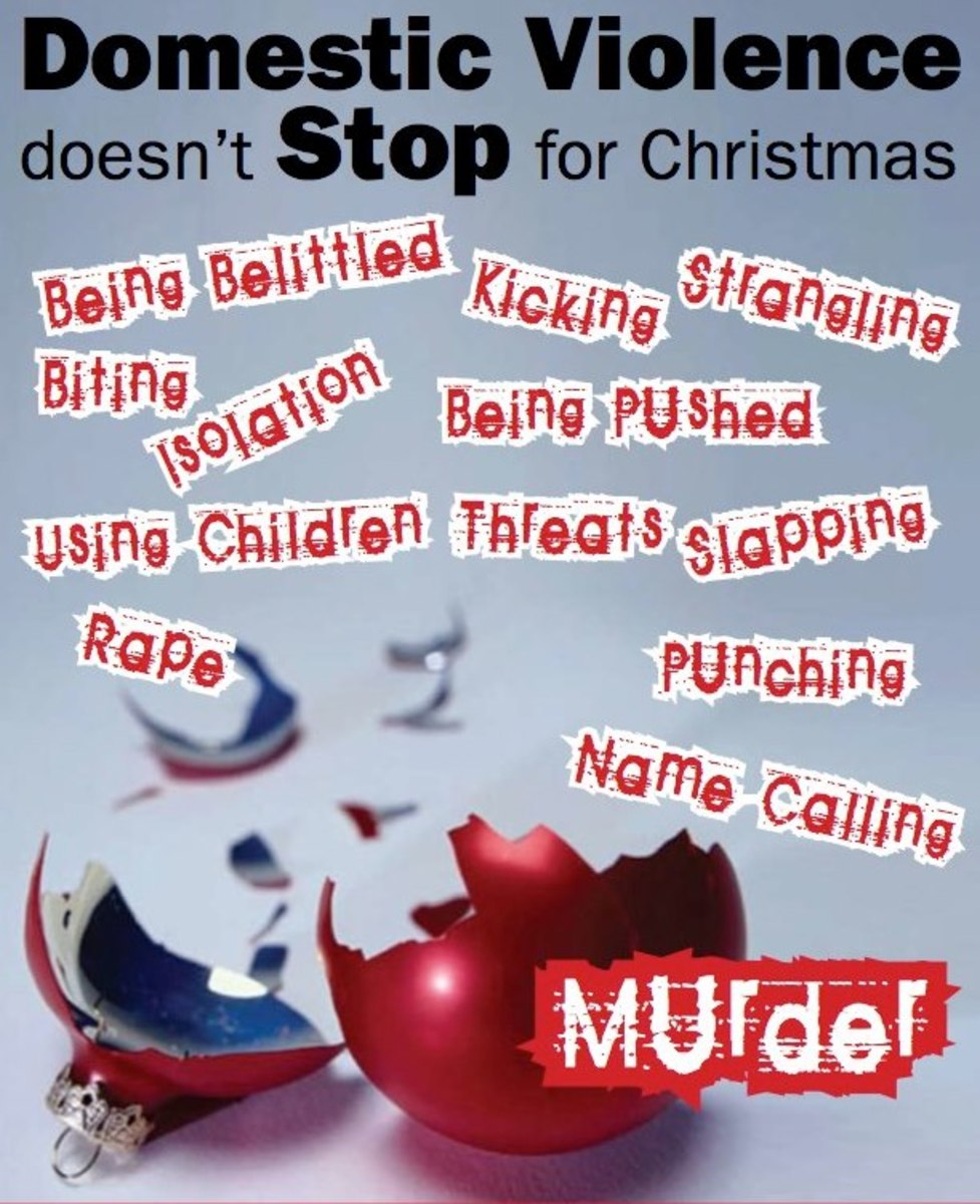 Celebrating Christmas With An Abusive Partner