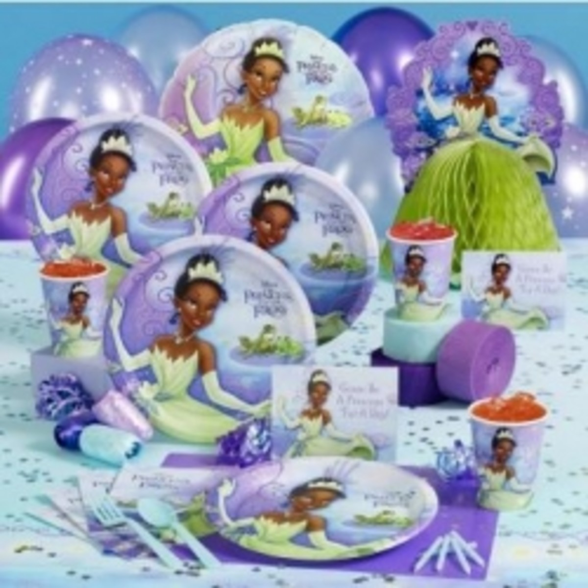 The Princess and the Frog Party