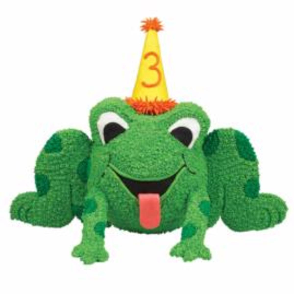Wilton You can also create a Crown instead of a Birthday Hat for a Frog Prince