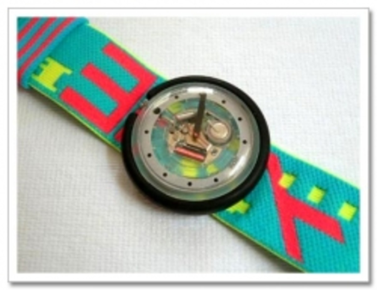 Retro Swatch Watches from the '80s and '90s