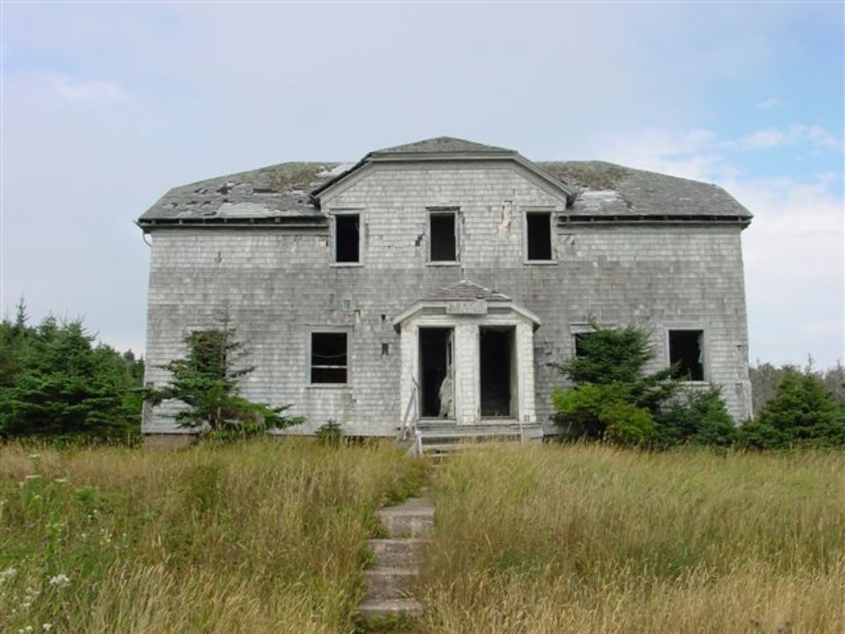 The Old Governors Mansion. A very spooky place
